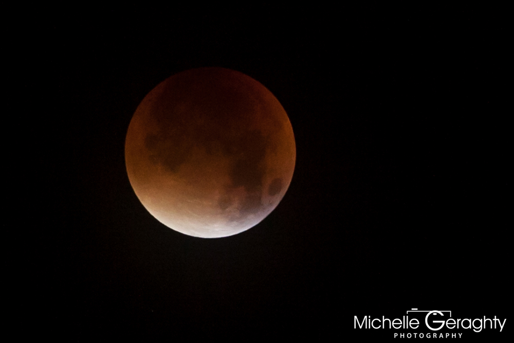Super Moon Lunar Eclipse 2015 - Stage 3