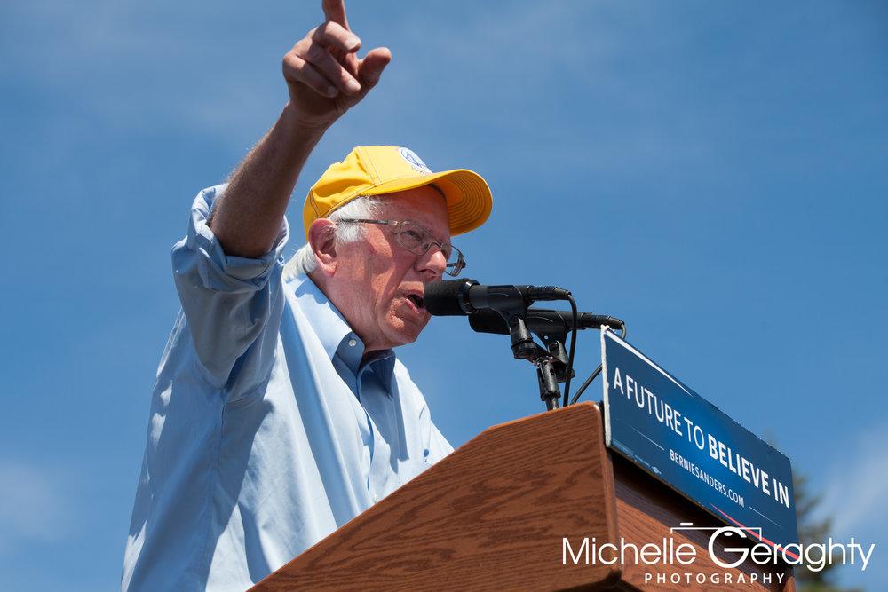 Bernie Sanders Rally - Palo Alto, CA - June 2016