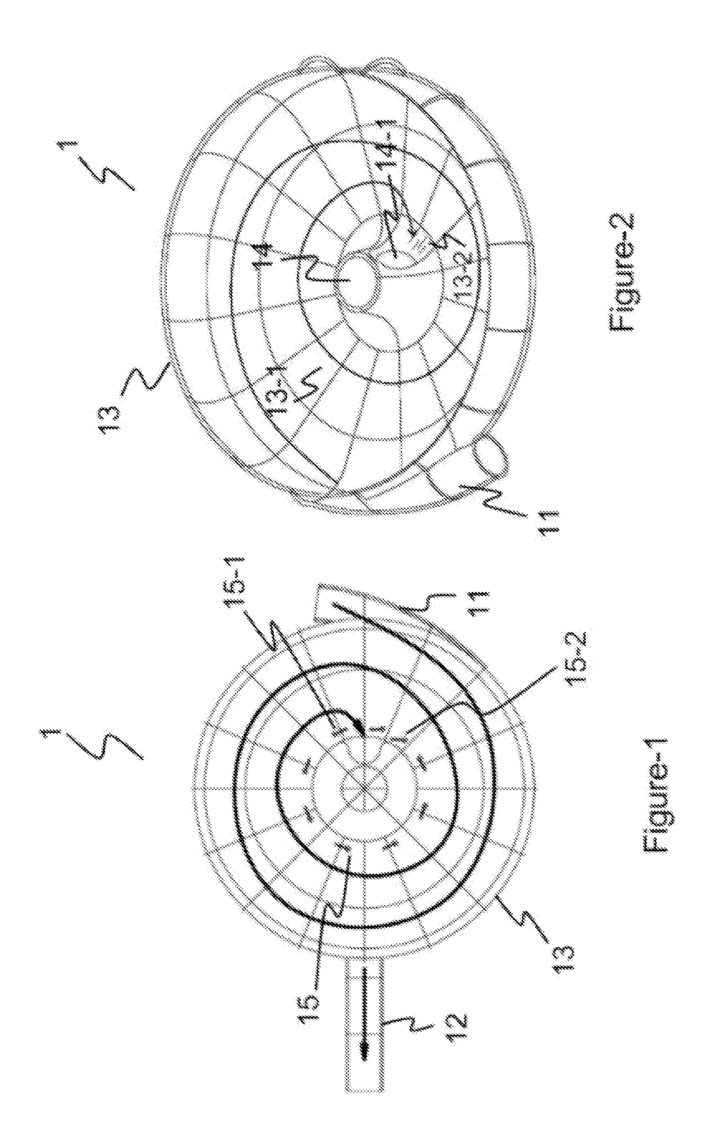 Sliding Bowl with Water Jet System patent illustration from  patents.google.com