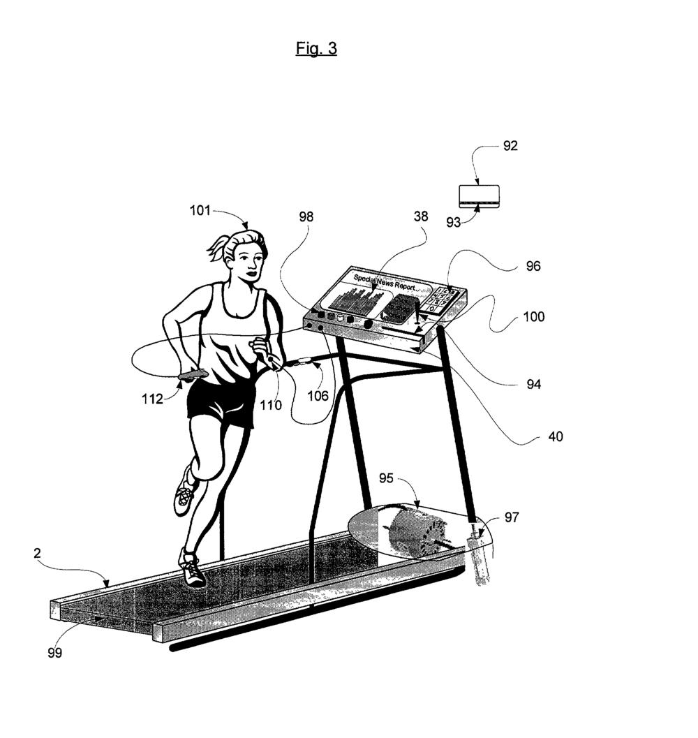 Patent Illustration for System and Method to Improve Fitness Training from  Google.