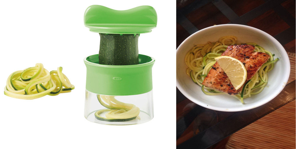 Spiralizer and one of the delicious creations made with it!