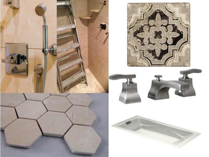 Remodel Recap! — Julie & Company on zero entry bathtubs, zero entry spa, zero barrier shower, ada shower design, waterfall shower design, zero threshold shower,