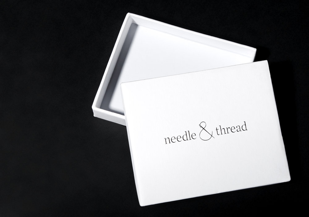 Needle & Thread Packaging