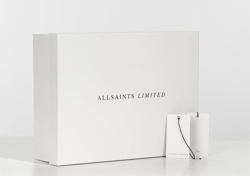 Allsaints Brand Identity