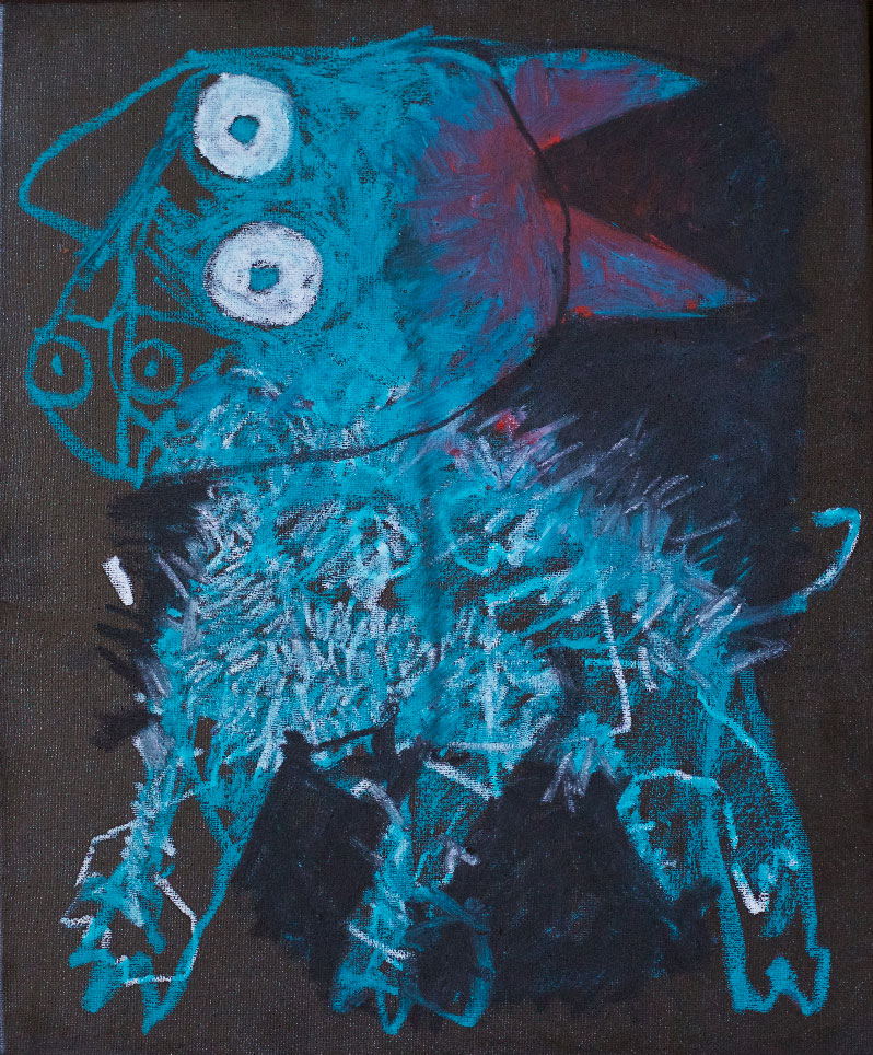 Ktt Ktt Ktt Petit cheval bleu