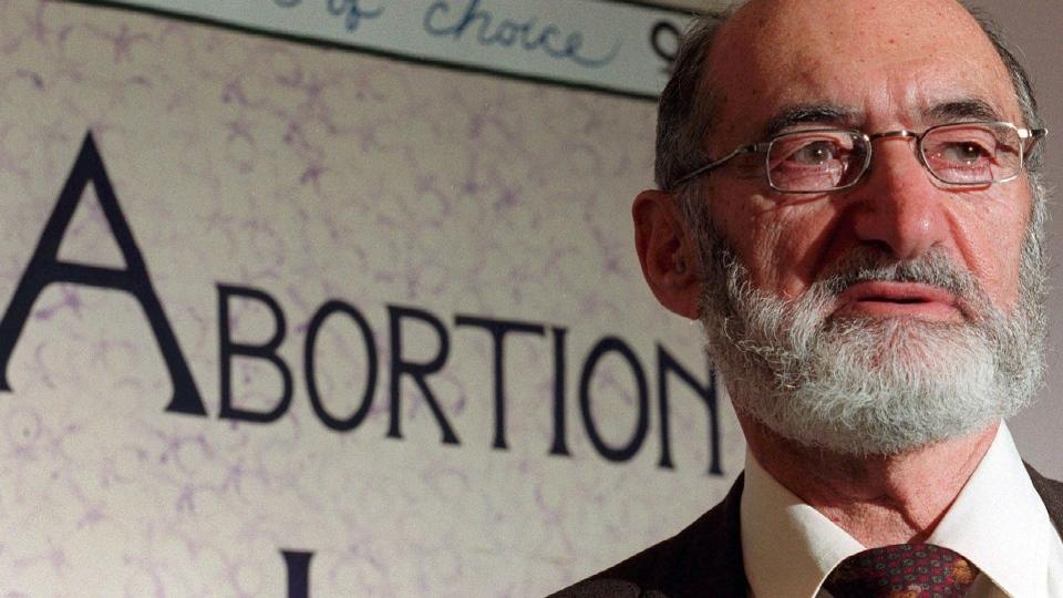 Henry Morgentaler. Image Source: www.ctvnews.ca