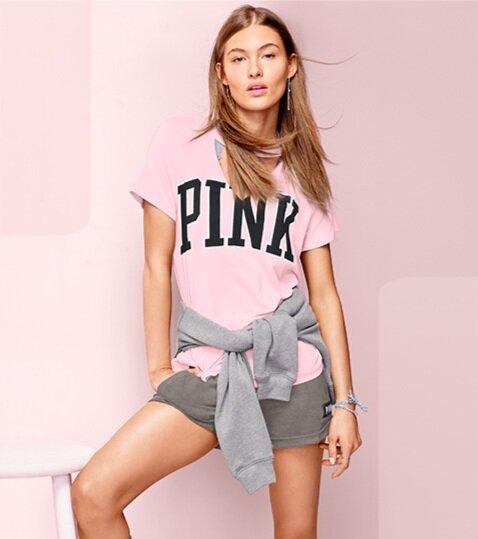 Victoria's Secret   Email and Social Media Digital Assets for VS Pink