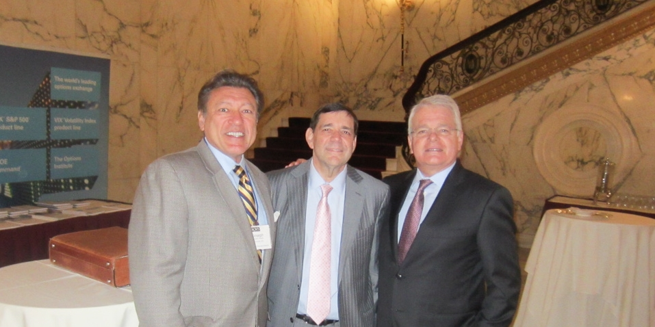 Mr. Joseph Rinaldi with Mr. Scott Black and Mr. Felix Zulauf