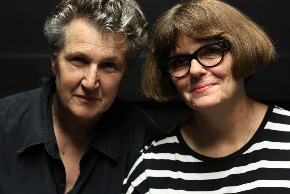 Peggy Shaw and Lois Weaver, photo by Claire Nolan.JPG