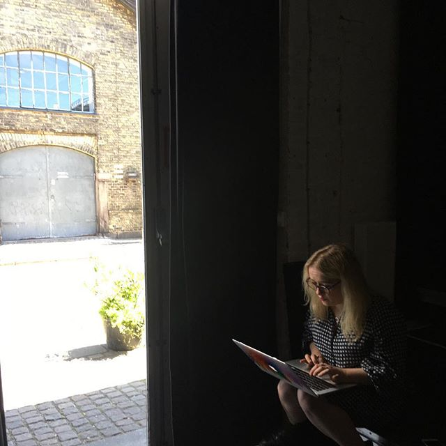 @_alexlegge_ working in Copenhagen