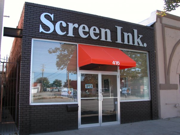Screen Ink.