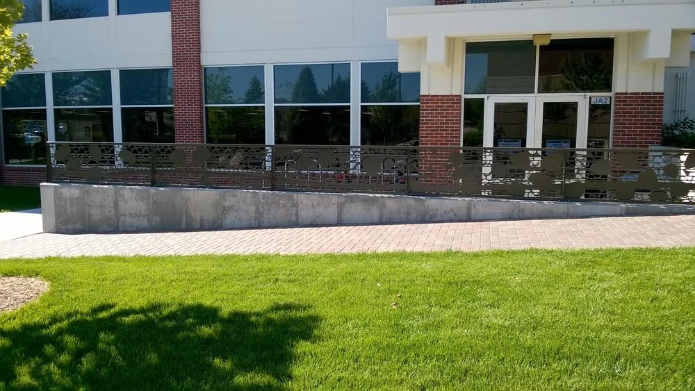 Concordia University Seward Railing