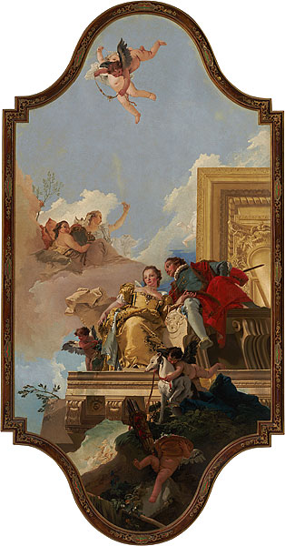 Giambattista Tiepolo, Marriage Allegory. National Gallery of Australia.