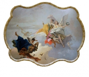 Giambattista Tiepolo, The Triumph of Virtue and Nobility over Ignorance. Norton Simon Museum.