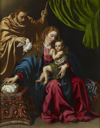 Luis Tristán, Holy Family, 1613. Oil on canvas. Minneapolis Institute of Arts.