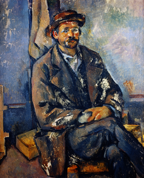 Paul Cezanne, Peasant, Berggruen Collection.