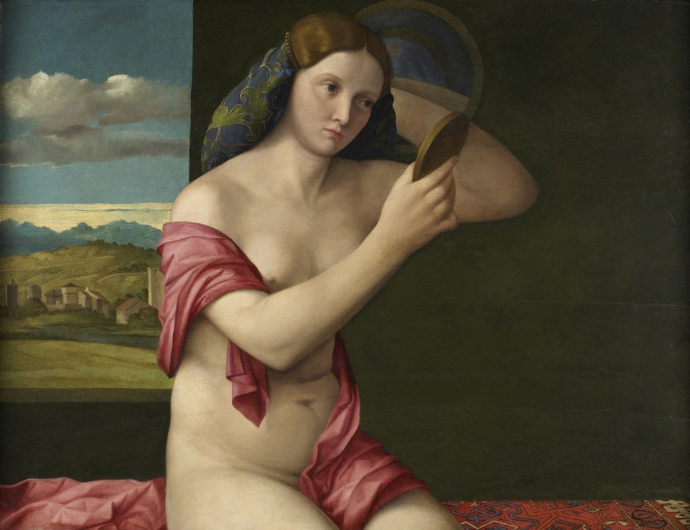 Giovanni Bellini & Workshop – Venus at Her Toilet