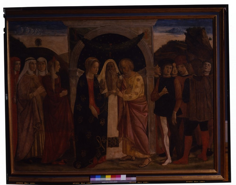 Giovanni & Gentile Bellini – The Marriage of the Virgin