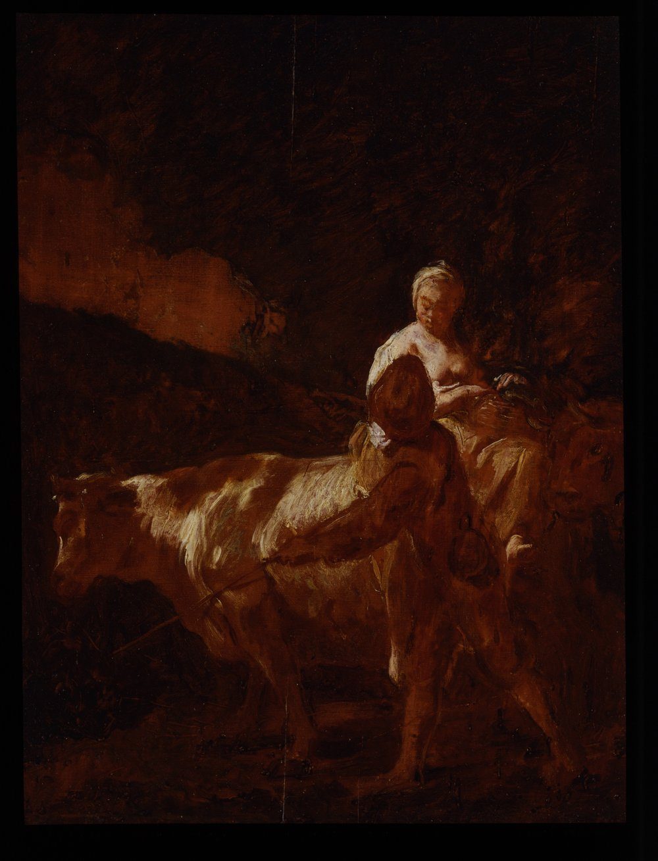 Giovanni Battista Piazzetta – Pastoral Scene