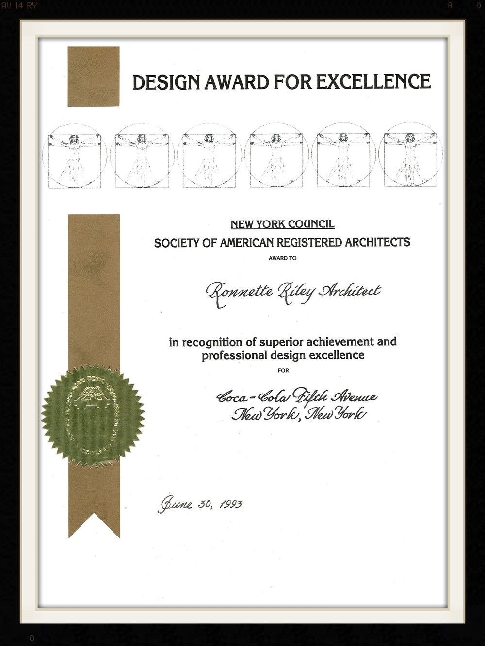 New York Council: Society of American Registered Architects