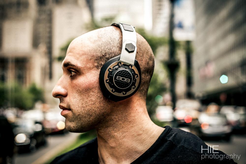 808 Headphones Product Shoot