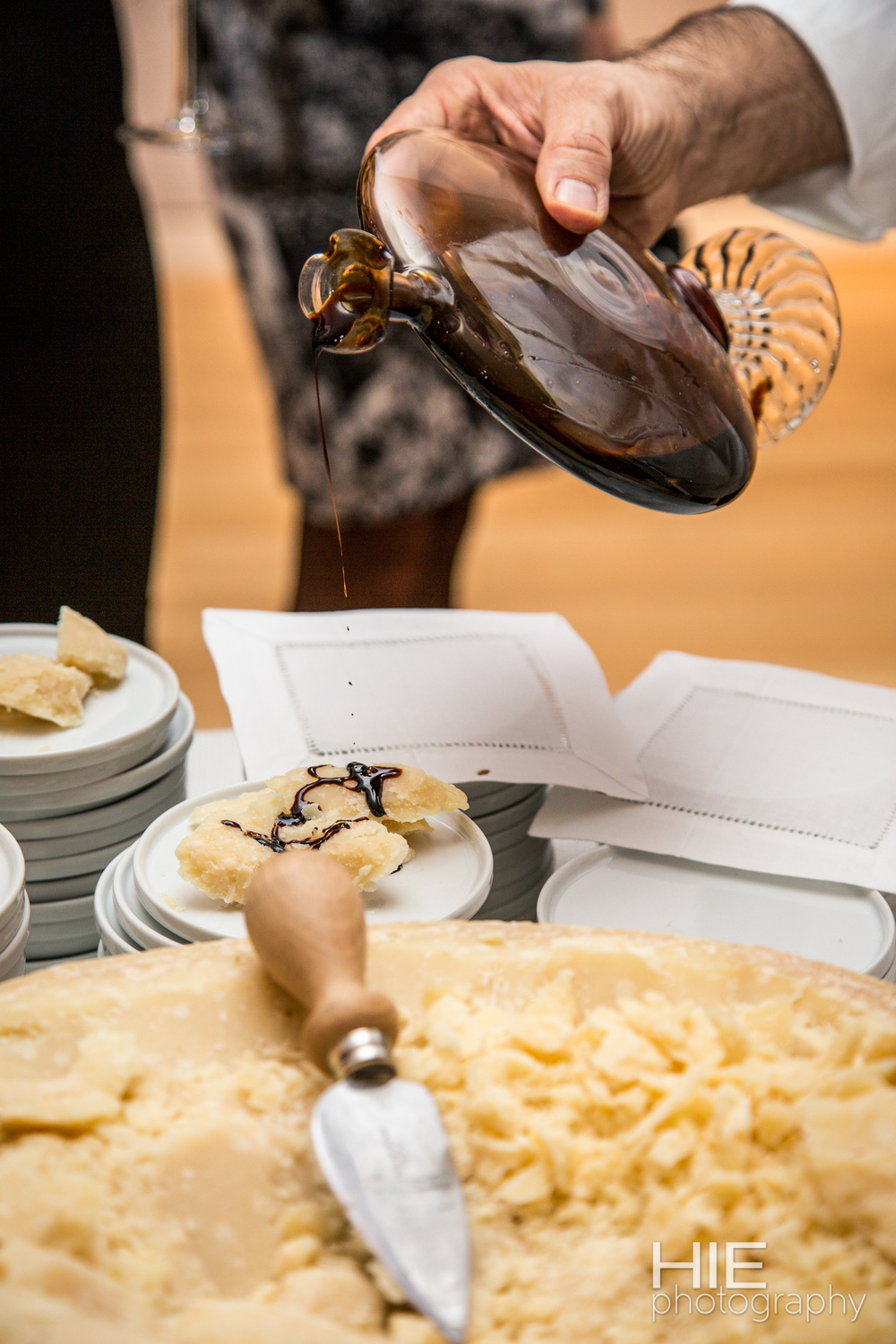 Chef Massimo Bottura at Sotheby's
