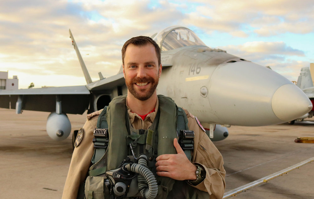 2019 CF-18 Demo Pilot Captain Brian Kilroy.