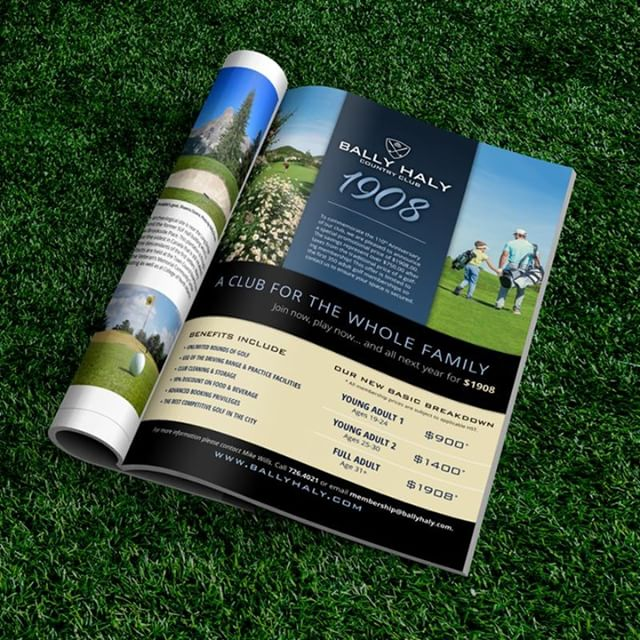 Did you know that @ballyhalygolf course is opening on Wednesday? Did you know they have the best rates in town? We had a blast working with them on their 1908 campaign, helping to spread the word about all the benefits of being a member. Now is a great time to join, so we hope you check them out. #ballyhalygolf #golfcourseopening #bestratesintown #anniversaryrates #golfer #golfnl #golfnewfoundlandandlabrador #playgolf #stjohns #newfoundlandandlabrador #yyt