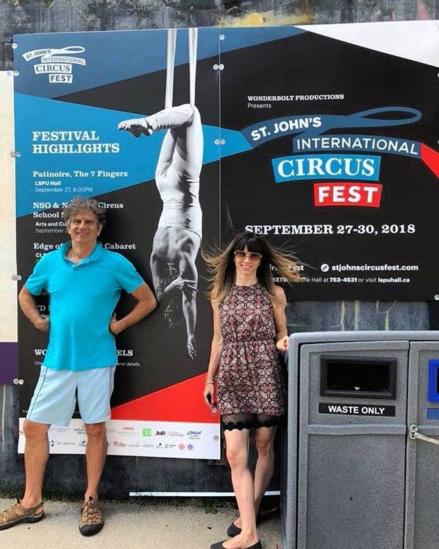 We are so thrilled to be involved with the @sjcircusfest team!