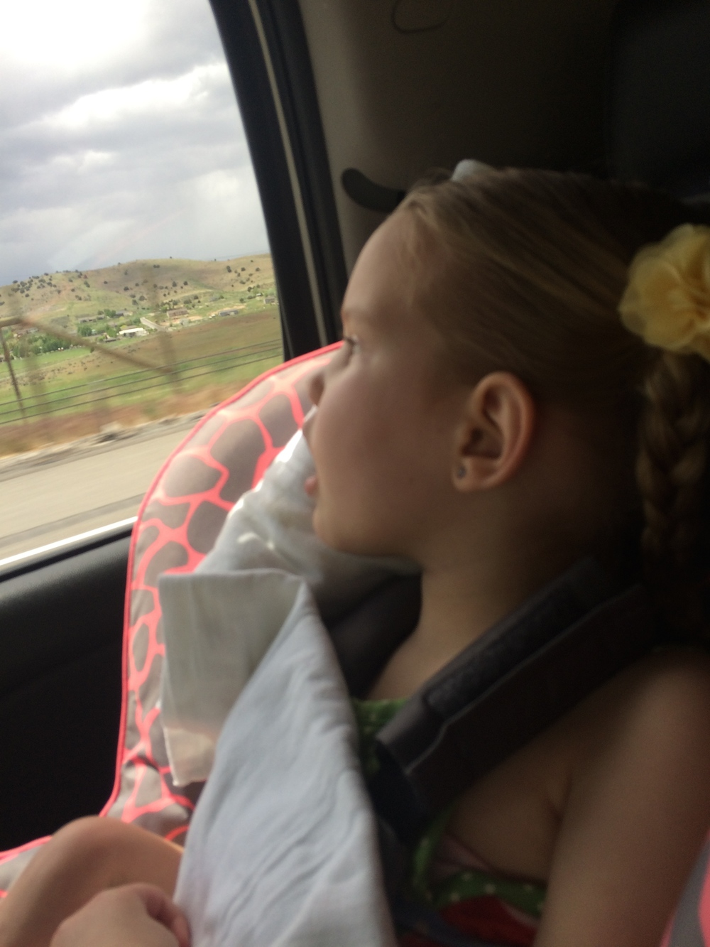 We had no idea how Kycie would handle the 310 mile drive from Primary Children's Hospital in Salt Lake City to her house in St. George.