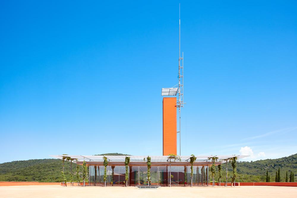 Cantina Rocca di Frassinello, Renzo Piano Architetto