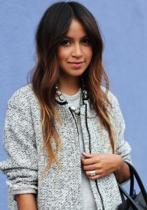 Dark brown ombre fall 2014 hair trends