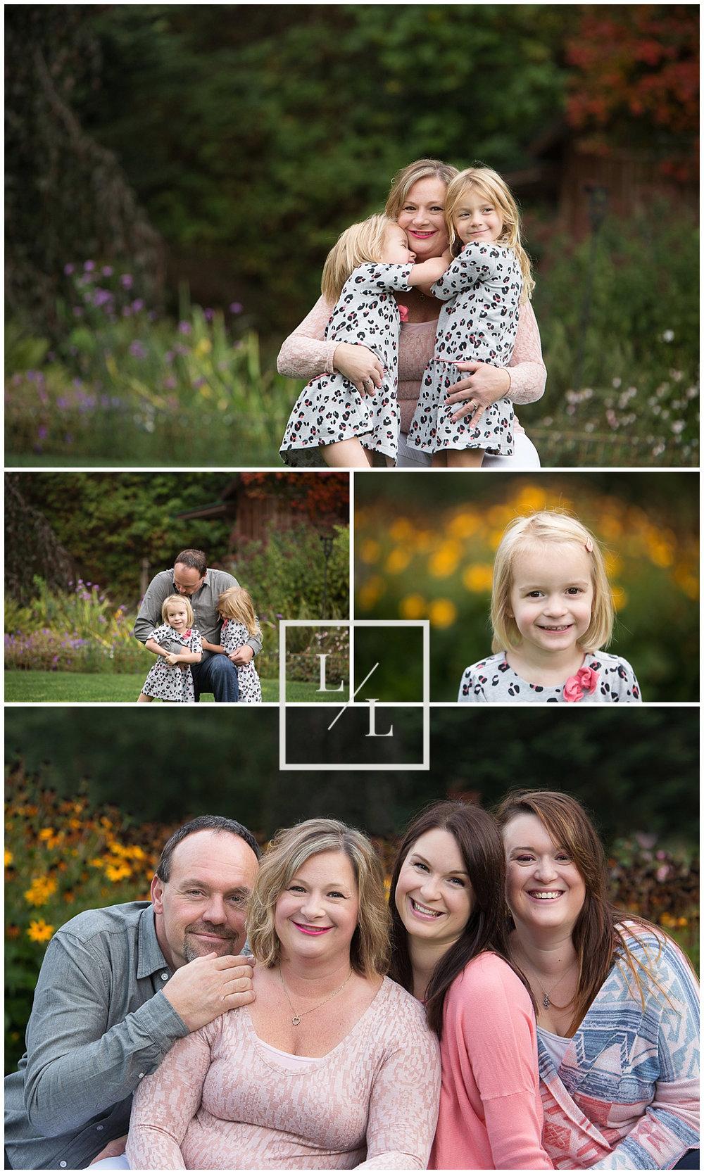 Large Family Photography Lake Stevens