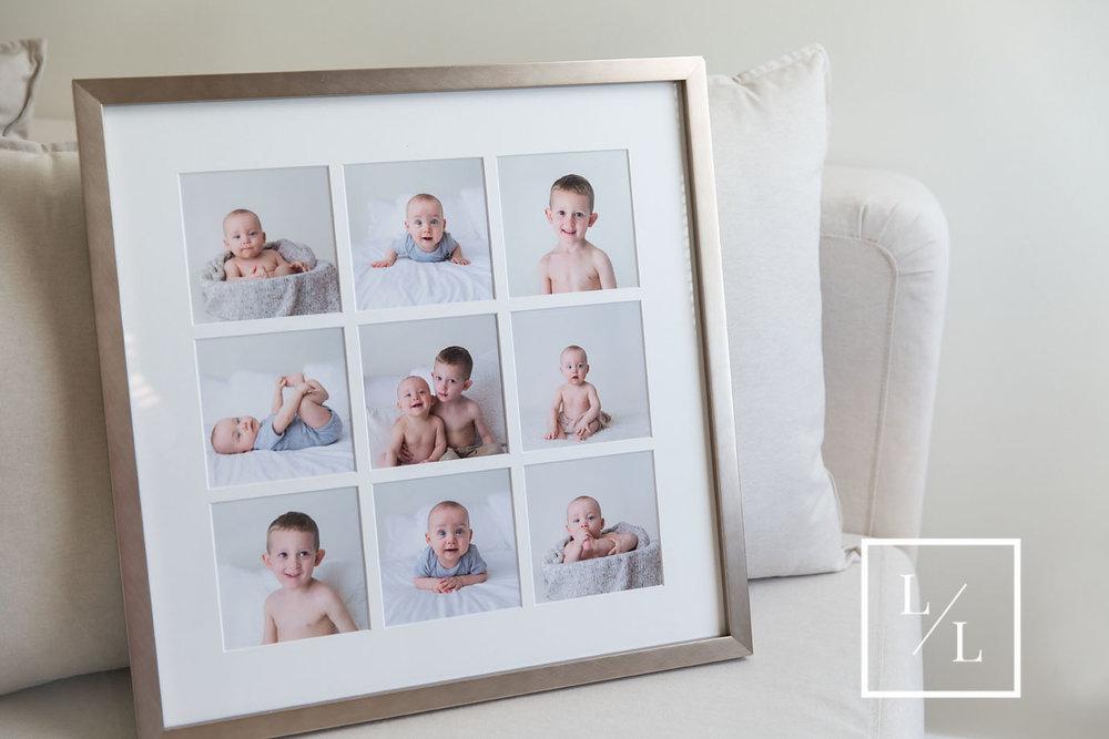 Framed Baby Portraits Everett