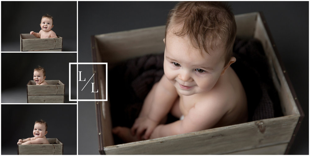 Picture of Baby grey studio background