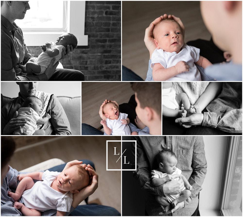Natural Window Light Studio Photography Everett Newborn.jpg