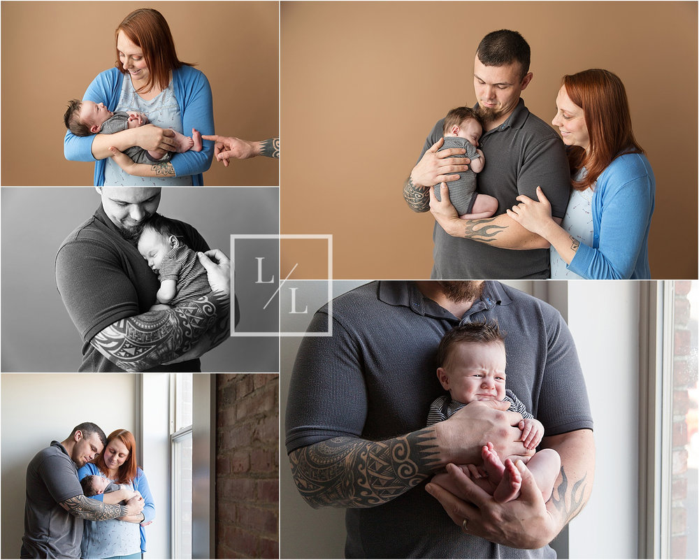 Newborn pictures in Studio Everett.jpg