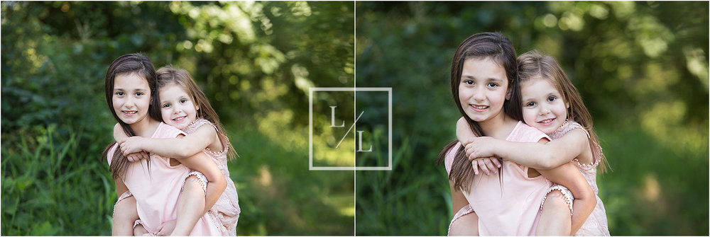 Outdoor Portrait of 2 sisters in Snohomish