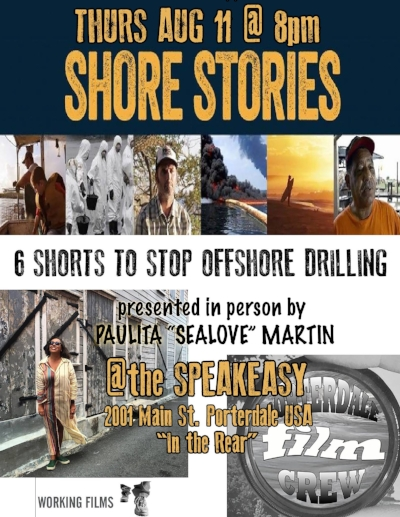 Recent screening and talk on Issues facing the Georgia Coast. Shore Stories is a collection of shorts from environmental documentaries created by Working Films, and hosted by  OneHundredMiles.org