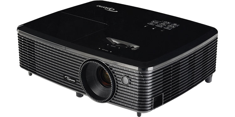 Bring the big screen home with the Home Theater Projector. Use the HMDI®  ports to plug into your media, or connect to Optoma's HDCast, Roku® or even  your ...