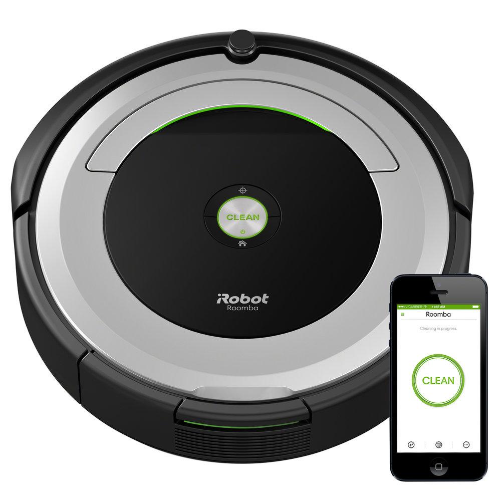 iRobot® Roomba® 690 Wi-Fi® Connected Robot Vacuum