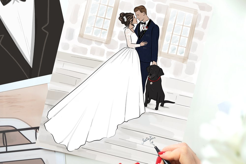 Private Commissions - The perfect gift, keepsake and memory treasurer. Custom portrait illustrations with a fashion flair!Get a quote