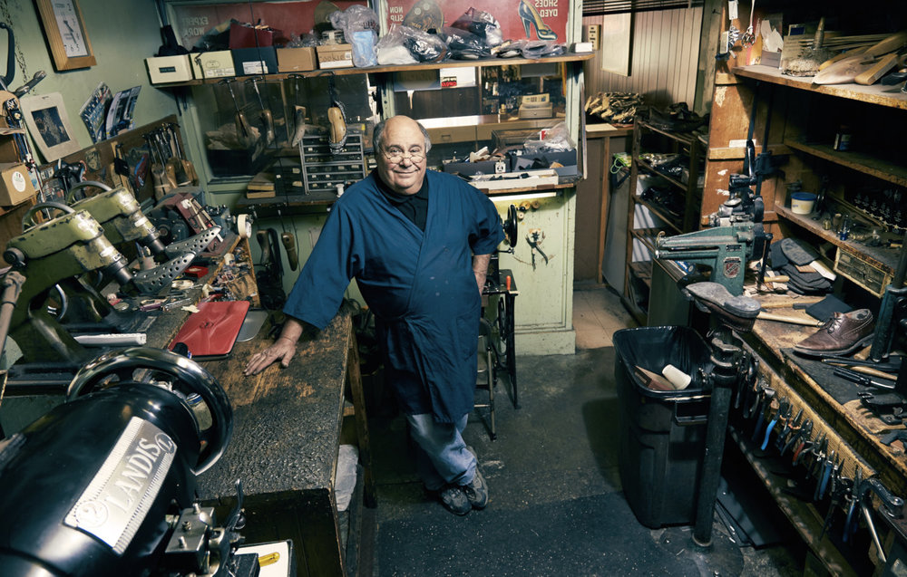 Portraiture Image of a Shoemaker in Birmingham Michigan Photographer Portraits Detroit Photographers Brad Ziegler Photography Small Business Photos by Professional Photographer Brad Ziegler.jpg