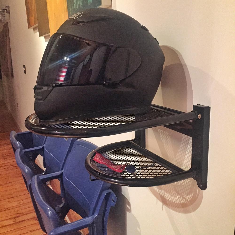 Motorcycle Helmet Mount