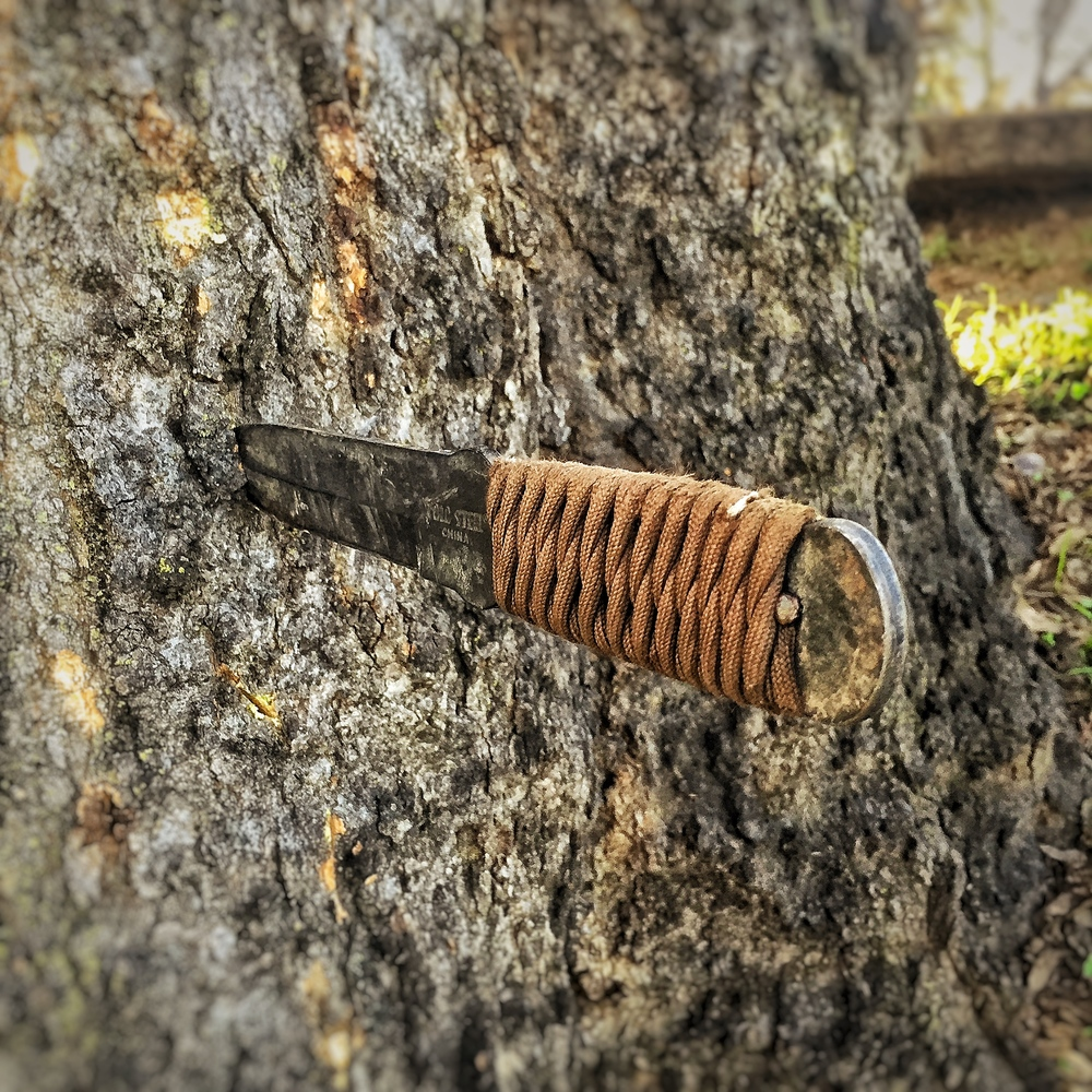 Cold Steel True Flight Thrower Paracord Wrapped Handle