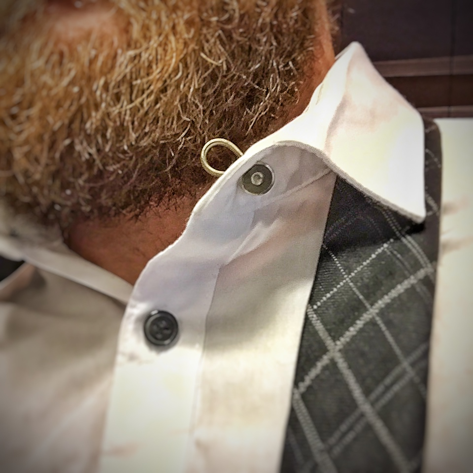 Metal Collar Extenders for Dress Shirts