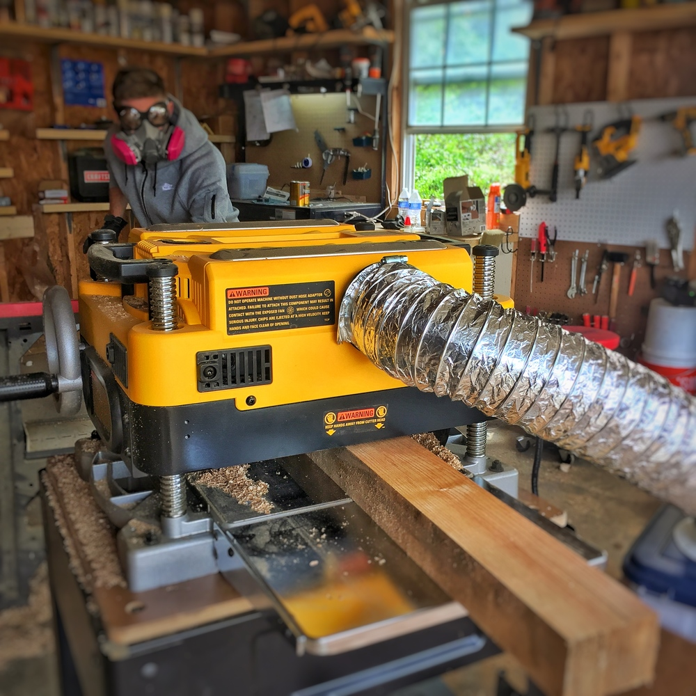 "DEWALT 13"" Two-Speed Planer"