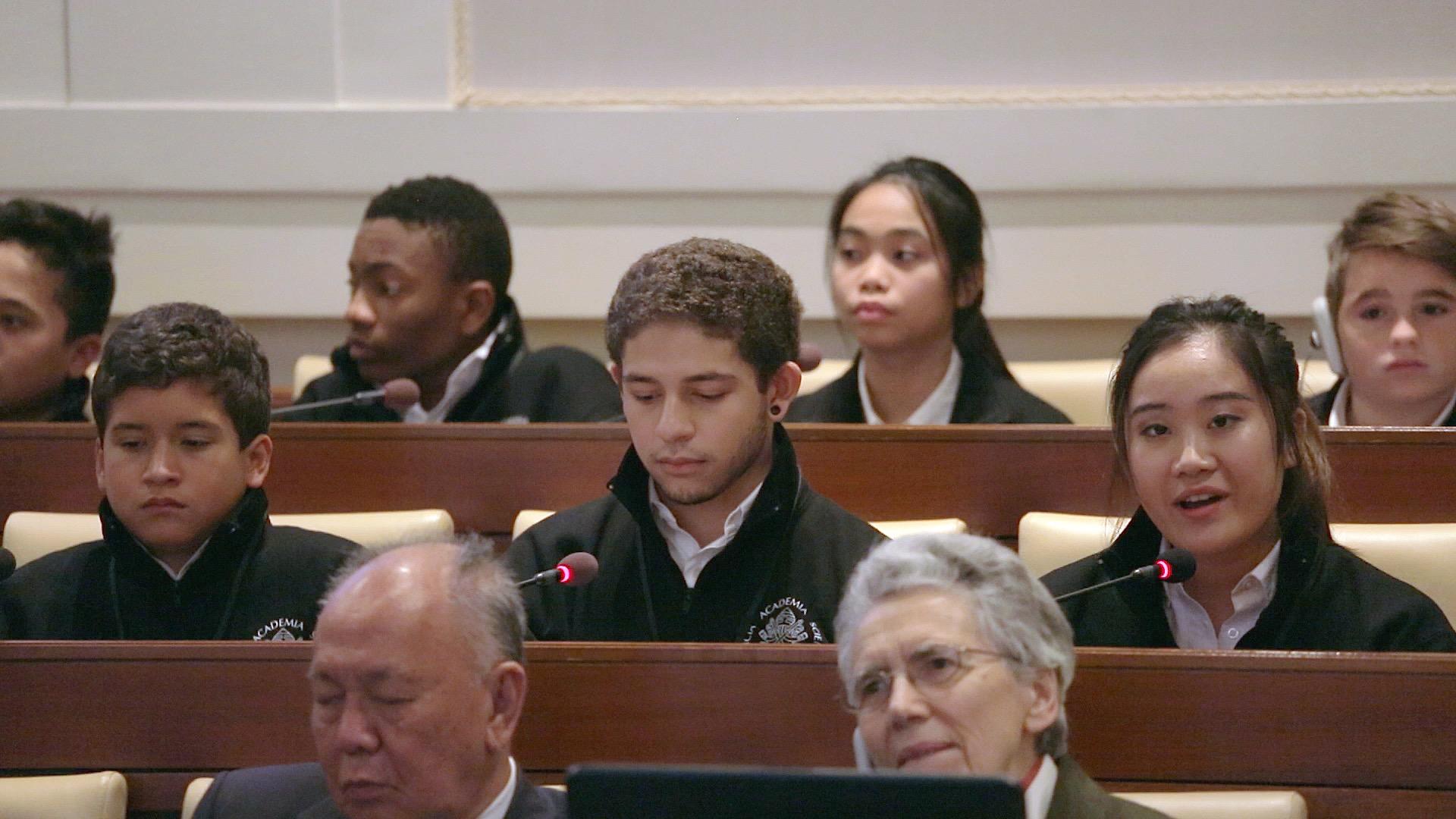 Students at Vatican 6