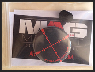 Mag Magnet™. This simple magnetic tool is ergonomically designed and fits perfectly into the bullet button.