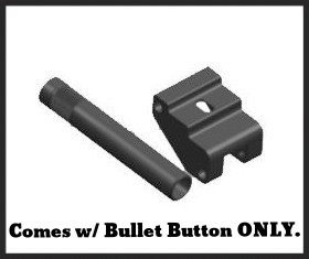 **Comes w/ Bullet button only** Kel Tec RFB bullet button. The Bullet Button® is Machined of 6061 billet aluminum and is anodized black.